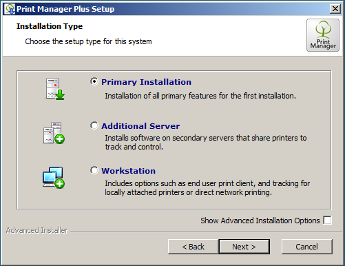 How to move your Print Manager Plus install and database to
