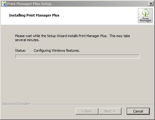Print Manager Plus 8 0 to 9 0 Upgrade and Database Migration